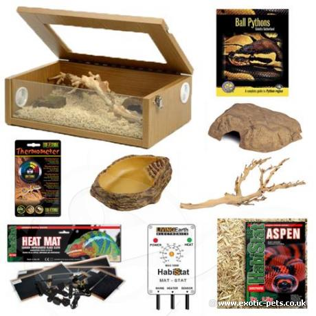 Exotic Pets Royal Python Kit