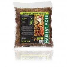 Komodo Habitat Moss (Live sphagnum moss)