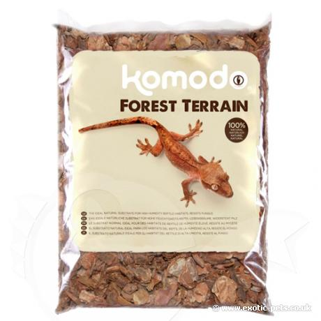 Komodo Orchid Bark Forest Terrain