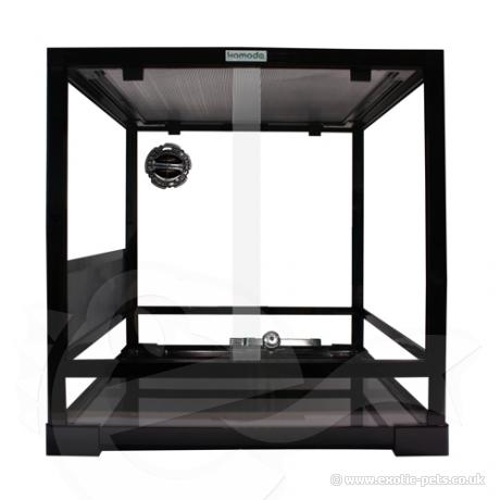 Komodo Easy Assemble Terrarium Black