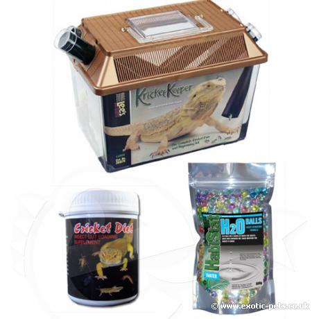 Exotic Pets Live Food Care Kit