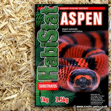 HabiStat Aspen Snake Substrate