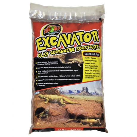 Zoo Med Excavator Clay Burrowing Substrate
