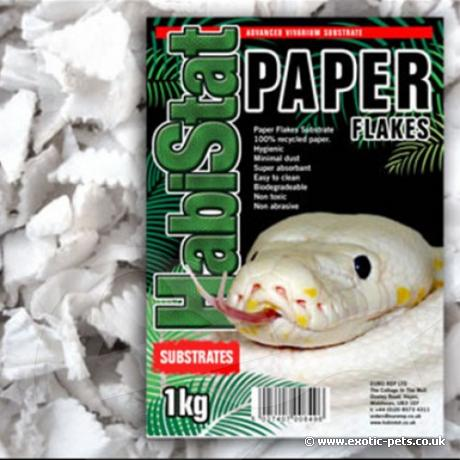 HabiStat Paper Flakes Substrate