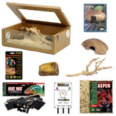 Exotic Pets Hatchling Kit (Full setup for hatchling snakes)