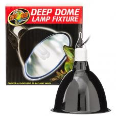Zoo Med Deep Dome Lamp Fixture (Extra long reflector dome)