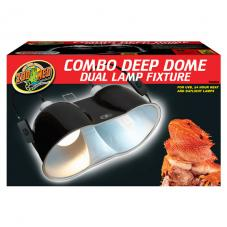 Zoo Med Deep Dome Combo 2-Pack (Extra long reflector dome)