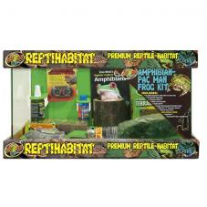 Zoo Med ReptiHabitat Amphibian Pacman Frog Kit (Affordable basic kit)