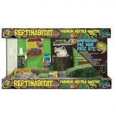 Zoo Med ReptiHabitat Amphibian Pacman Frog Kit