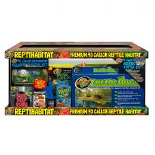 Zoo Med ReptiHabitat Aquatic Turtle Kit (Complete turtle kit)