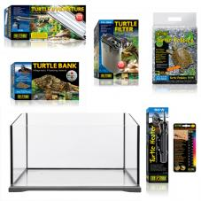 Exo Terra Turtle Terrarium Starter Kit (Complete setup for Turtles)