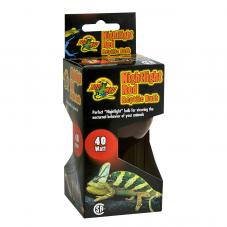 Zoo Med Nightlight Red Reptile Bulbs (Red glass bulb for nocturnal viewing)