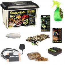 Exotic Pets African Land Snail Starter Kit (Complete Setup)