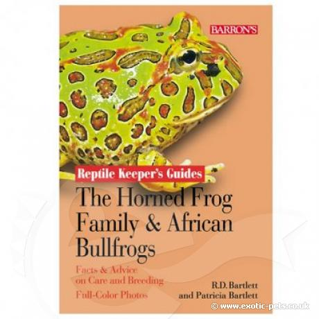 Barrons RKG - Horned Frogs and African Bullfrogs