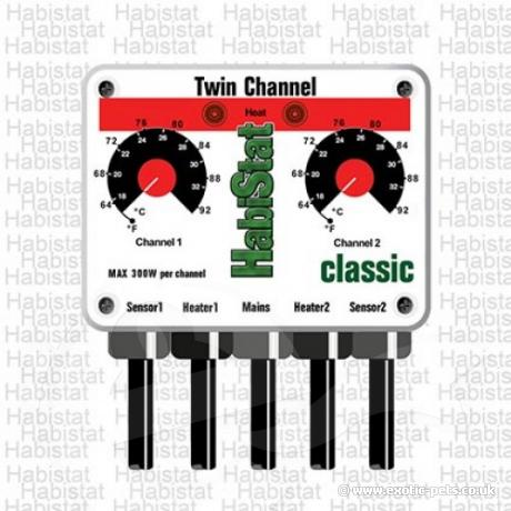 HabiStat Twin Thermostat