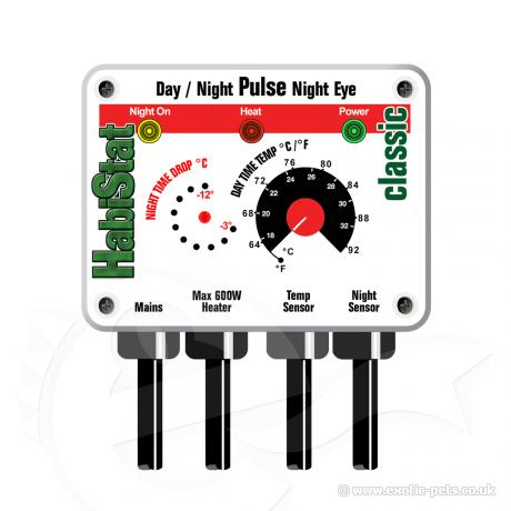 HabiStat Pulse Proportional Thermostat Day/Night