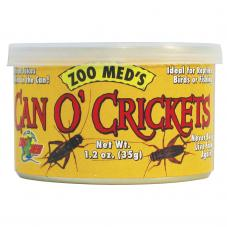 Zoo Med Can O' Crickets (Crickets in a can)