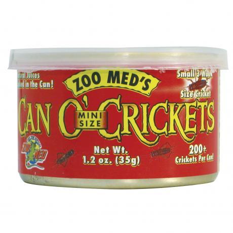 Zoo Med Can O' Mini-Crickets