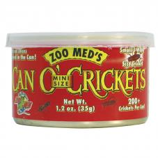 Zoo Med Can O' Mini-Crickets  (Small crickets in a can)