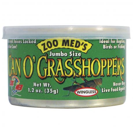 Zoo Med Can O' Grasshoppers