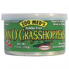 Zoo Med Can O' Grasshoppers (Grasshoppers in a can)
