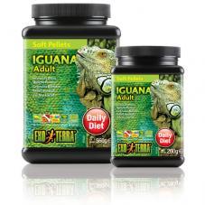 Exo Terra Iguana Soft Pellets (Complete diet for Green Iguanas)