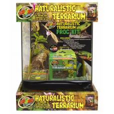 Zoo Med Naturalistic Terrarium Frog Kit (Affordable basic kit)