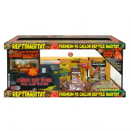 Zoo Med ReptiHabitat Bearded Dragon Kit