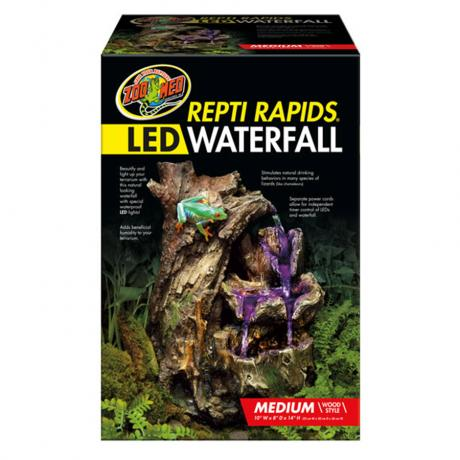 Zoo Med Repti Rapid Led Waterfall Decorative Water Fall
