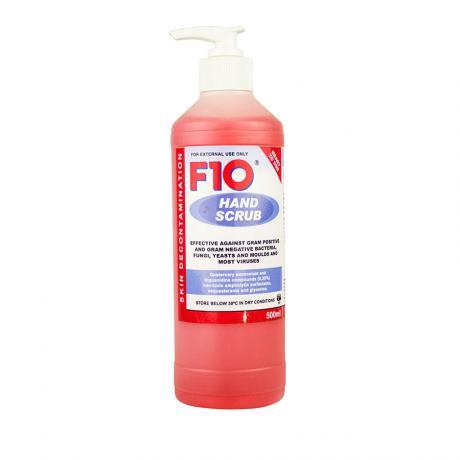 F10 Hand Scrub