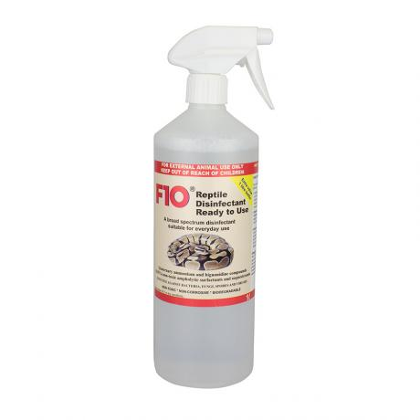 F10 Reptile Disinfectant Ready to Use