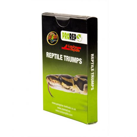 Reptile Trumps Card Game