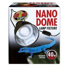 Zoo Med Nano Dome Lamp Fixture (For use with nano lamps)