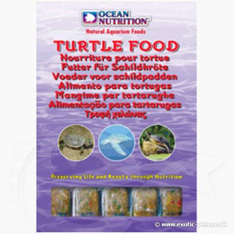 Frozen Turtle Food