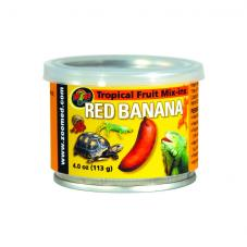Zoo Med Tropical Mix-in Red Banana (Canned foods)