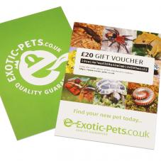 Exotic Pets Gift Card