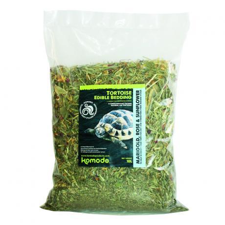 Komodo Tortoise Edible Bedding