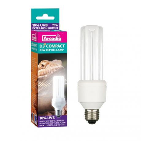 Arcadia D3+ Compact Lamp 10%