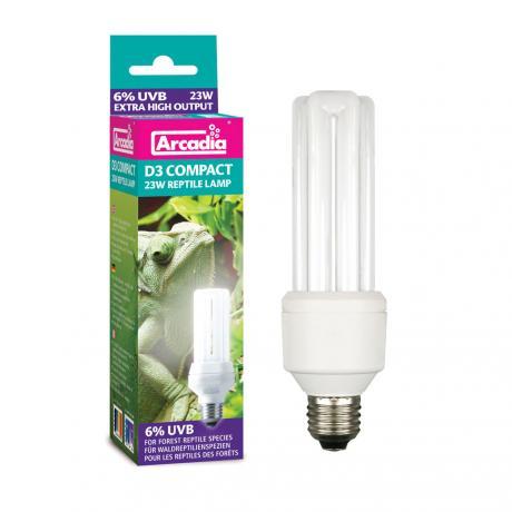 Arcadia D3 Compact Lamp 7%