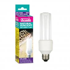 Arcadia Sunlight Compact Lamp 2% (For crepuscular species)