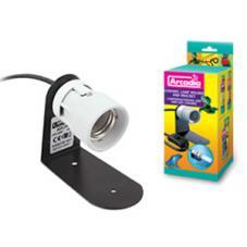 Arcadia Ceramic Lamp Holder plus Bracket ()