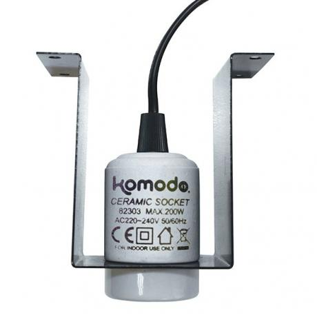Komodo Mountable Ceramic Lamp Fixture