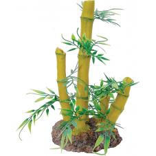 Repstyle Bamboo Plant and Rock Base