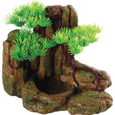 Repstyle Bonsai with Rock Feeder (Feed dish)