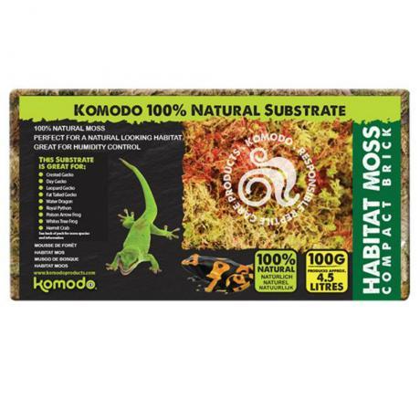 Komodo Habitat Moss Compact Brick