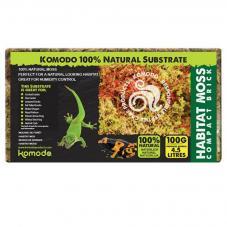 Komodo Habitat Moss Compact Brick (Dried moss)
