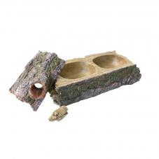 Komodo Forest Dual Feeder (Artificial hide)