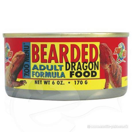 Zoo Med Bearded Dragon Tinned Food
