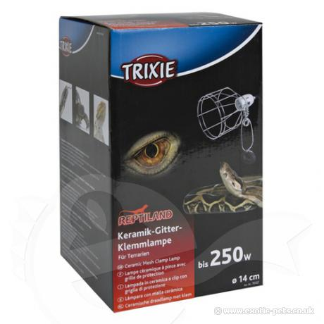 Trixie ceramic Wire clamp Lamp
