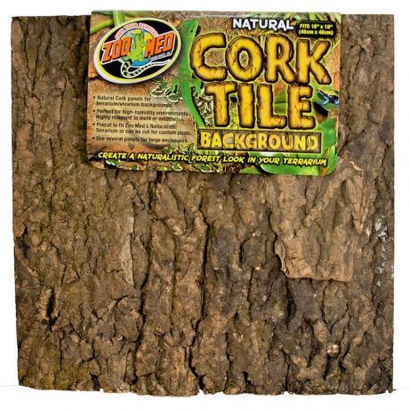 Zoo Med Cork Tile Background